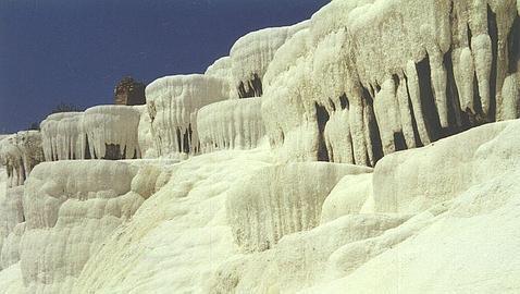 Pamukkale: castillo de algodón, en turco