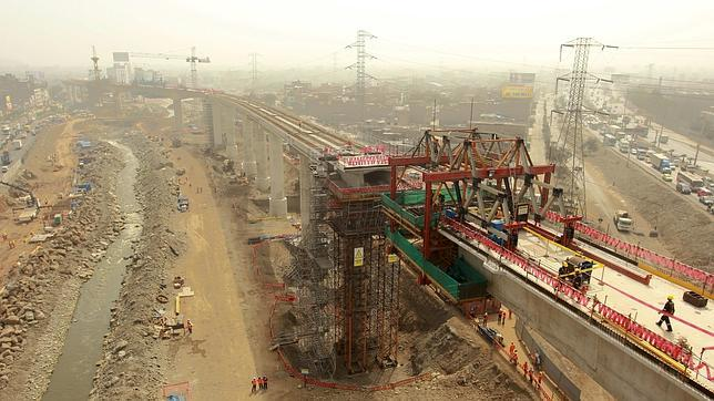 FCC y ACS se adjudican las obras del metro de Lima por 3.900 millones de euros