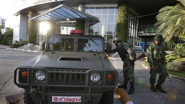 Tailandia declara la ley marcial por la escalada de protestas callejeras