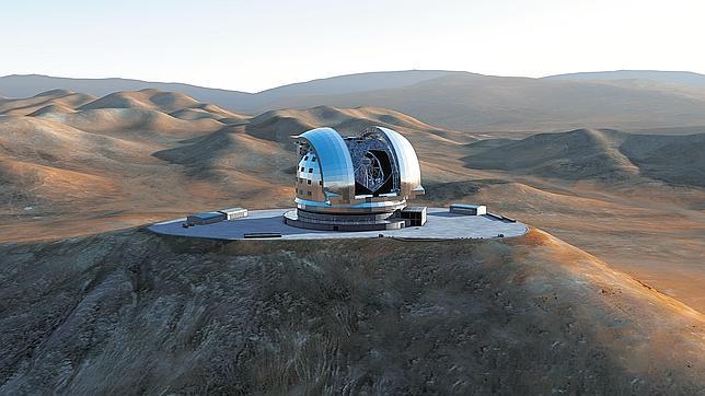 España participará en la construcción del telescopio más grande del mundo