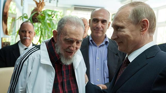 Putin confirmó que sostuvo una «interesante y prolongada» plática con Fidel