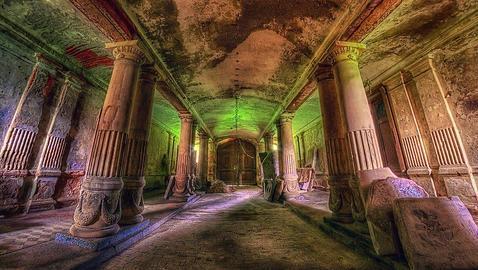 Los palacios secretos abandonados más bellos de Europa