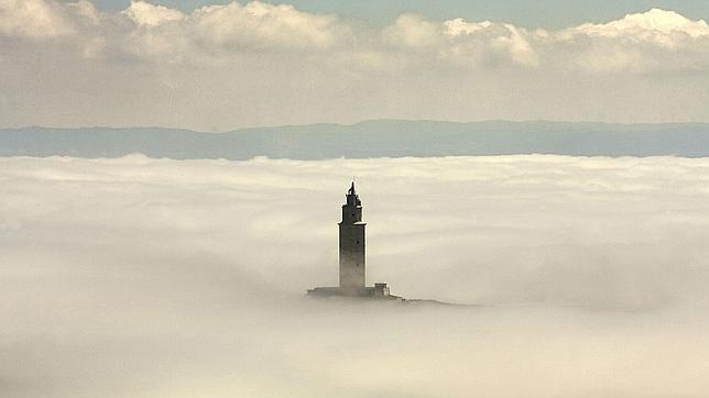 La Torre de Hércules en La Coruña
