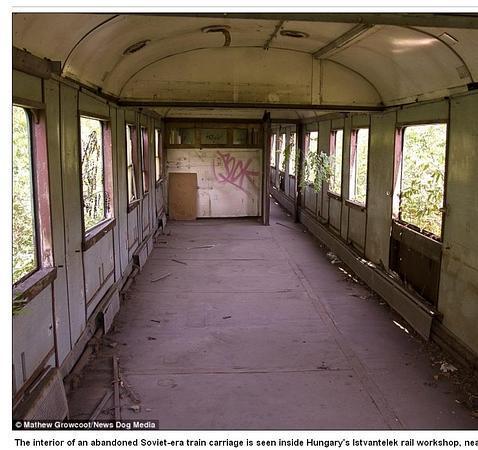 Dentro de los restos oxidados de los trenes nazis de auschwitz - Prima casa impignorabile ...