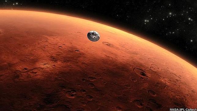 Proponen un viaje a Marte más barato y sin esperas