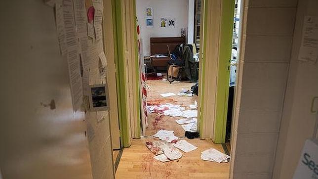Le Monde publica las primeras imágenes de la redacción de Charlie Hebdo tras el ataque