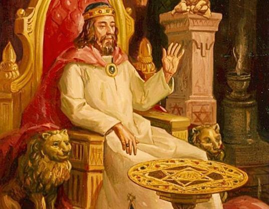 Resultado de imagen de rey salomon