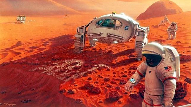 Un viaje a Marte podría volver locos a los astronautas