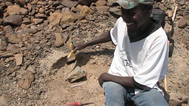 Hallan en Kenia herramientas de piedra anteriores al hombre