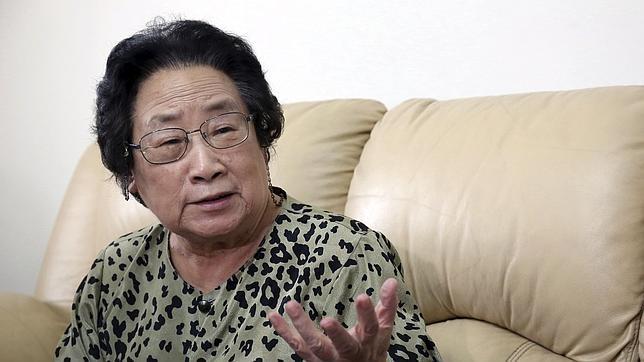 Youyou, en su casa de Pekin, este 6 de octubre / REUTERS