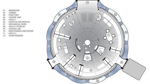 Planta del diseño (primer piso)