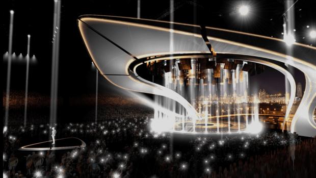Eurovisión:  Así será el escenario de Eurovisión 2017