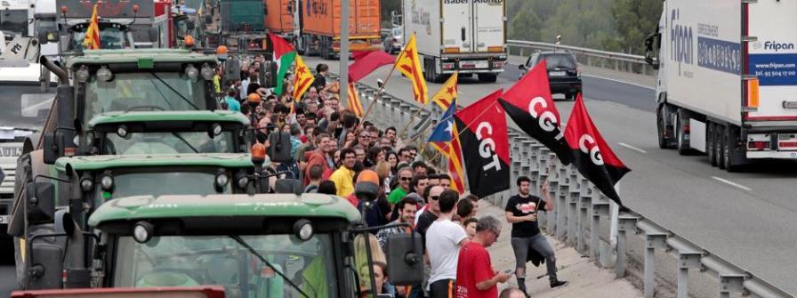 Huelga en Cataluña: una jornada subvencionada contra España
