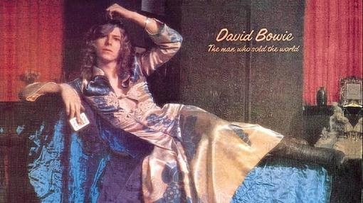 Portada del disco «The man who sold the world» de Bowie