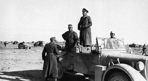 Rommel, junto a Hellmut