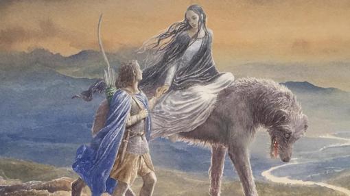 Una de las ilustraciones de Alan Lee
