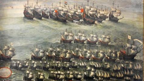 Lienzo de la batalla de Pernambuco