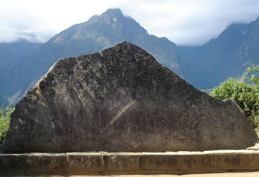 La Roca Sagrada de Machu Picchu