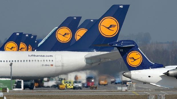 Lufthansa ha cancelado casi mil vuelos