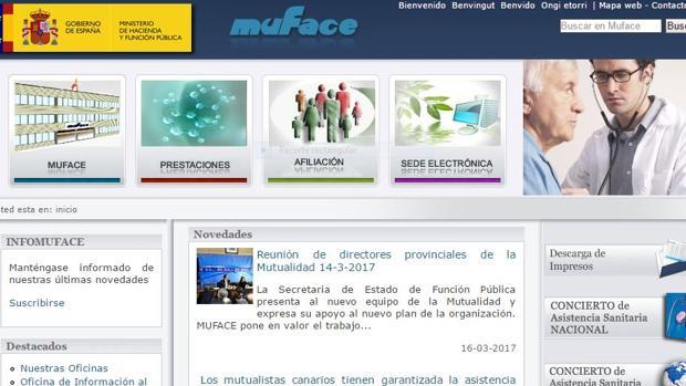 Muface es el sistema mayoritario y depende del Ministerio de Hacienda