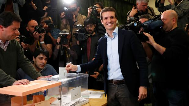 Resultado de imagen para Albert Rivera votando