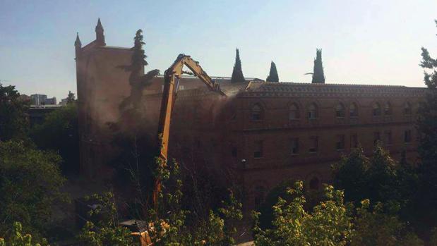 Image result for derribo convento paseo de la habana
