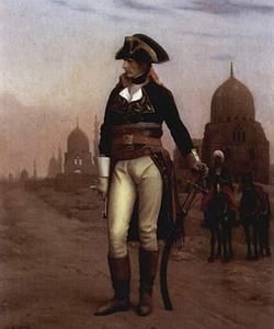 Retrato de Napoleón Bonaparte en Egipto