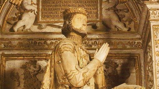 Sepulcro de Juan I. Capilla de los Reyes Nuevos de la Catedral de Toledo.
