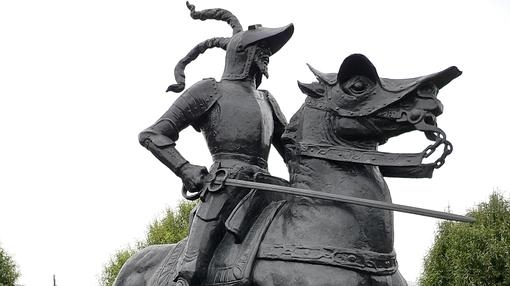 Estatua de Francisco de Pizarro en Lima