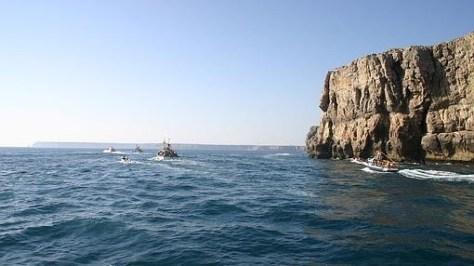 El cabo de San Vicente desde el sur