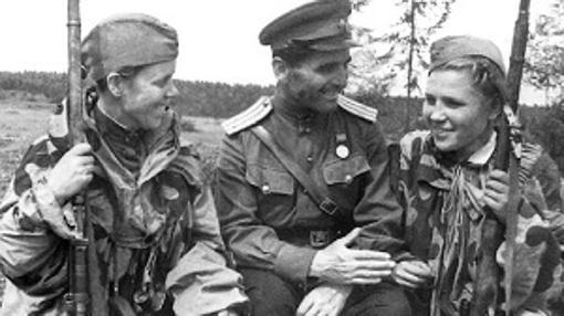 Escuela de francotiradores del ejército soviético