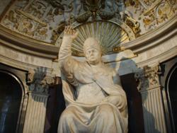 Estatua de León X, Salón dei Cinquecento, Palacio de Vecchio, Florencia