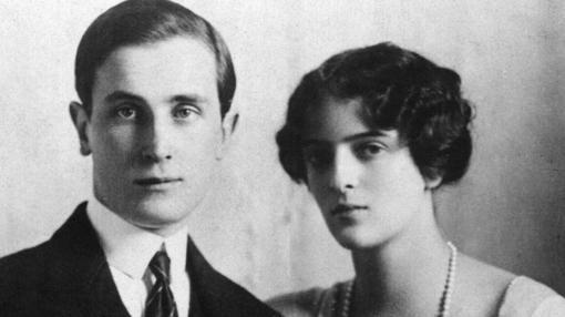 Félix Yusúpov y su esposa Irina