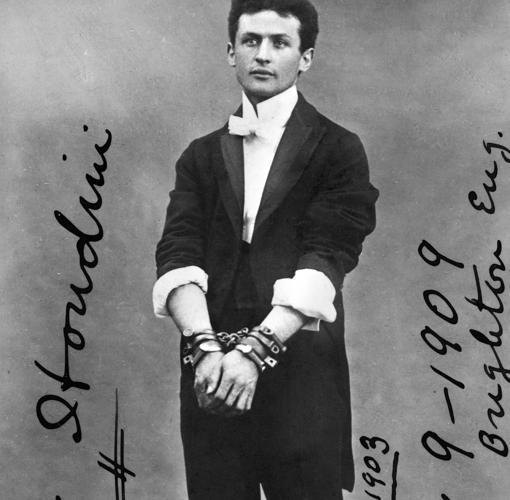 Fotografía firmada por Houdini