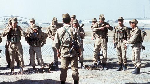 Spetsnaz desplegados en Afganistan en 1988