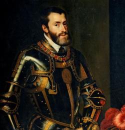 «El Emperador Carlos V con el bastón», por Rubens