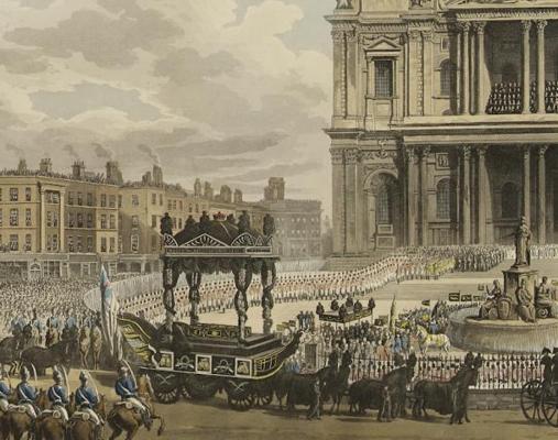 El funeral de Horatio Nelson