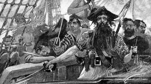 «La vida de los piratas» (Editorial Crítica): Barbanegra