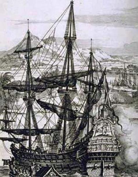 Galeón españon, según Durero