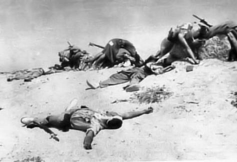 Legionarios fallecidos en Edchara