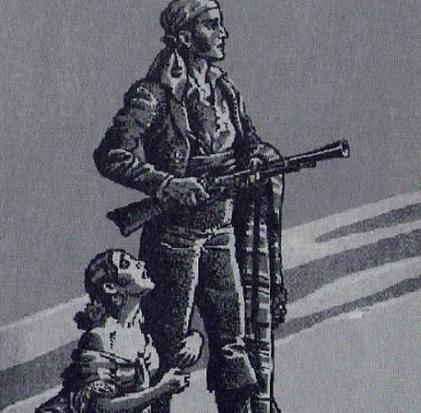 Representación de un bandolero español