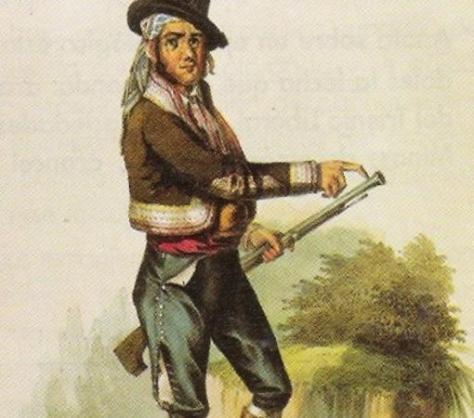 Imagen arquetípica del bandolero andaluz