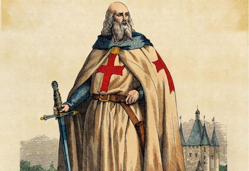 Jacques de Molay, gran maestre del Temple