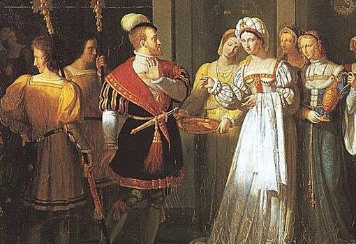 El anillo de Carlos V», de Pierre Révoil