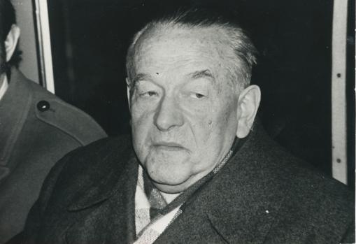 Imagen de Leopold Trepper, en 1965