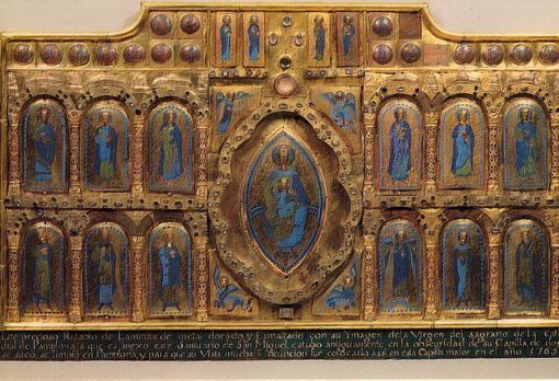 Retablo de Esmalte Bizantino