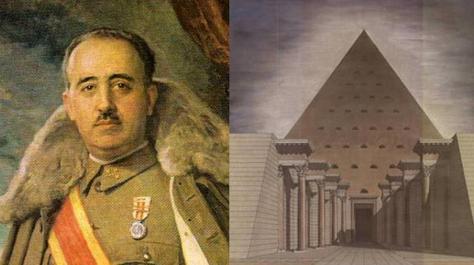 Resultado de imagen de El diseño secreto del Valle de los Caídos: una gigantesca pirámide para enterrar a Franco
