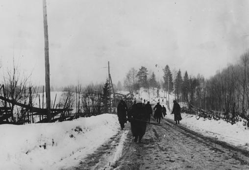 Las tropas alemanas continúan defendiendo Narvik y conquistan terreno al norte de la ciudad en 1944