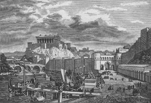 Ciudad de Roma en tiempos de la República