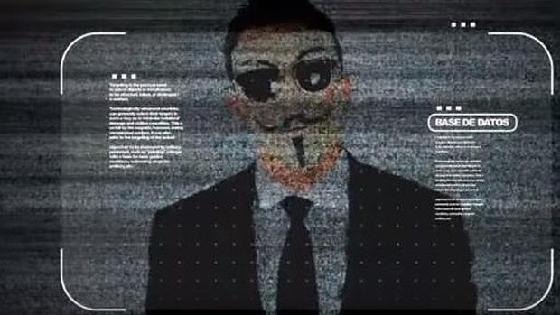 Fragmento del vídeo de Anonymous